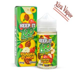 Keep It 100 Peachy Punch (OG Orchard) 100 Ml Ejuice